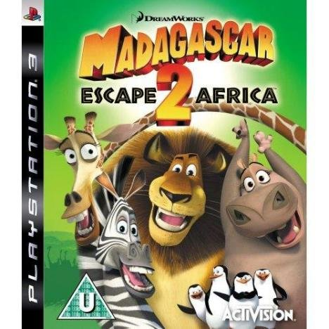 Madagascar Escape 2 Africa PS3